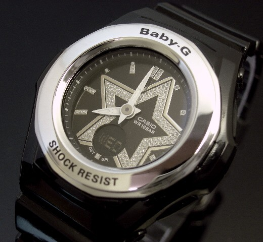 CASIO/Baby-G star index series BGA-103-1B black foreign countries model