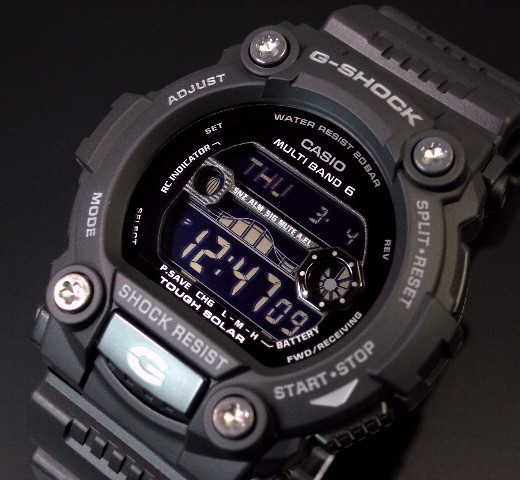 CASIO/G-SHOCK【カシオ/Gショック】メンズ ソーラー電波腕時計 タイドグラフ・ムーンデータ搭載 ブラック GW-7900B-1 海外モデル【並行輸入品】