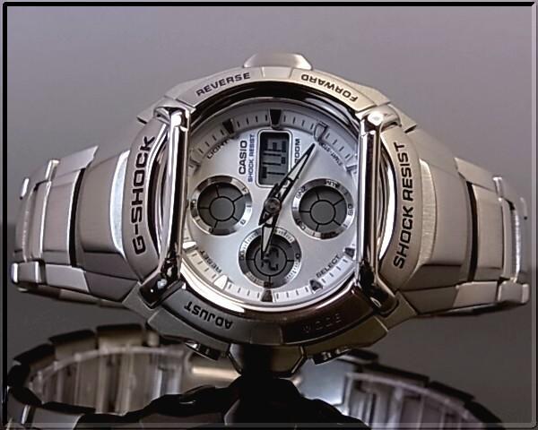 卡西欧 G-SHOCK 驾驶舱金属模型男装手表银字母板 G-511 D-7AV 海外模型