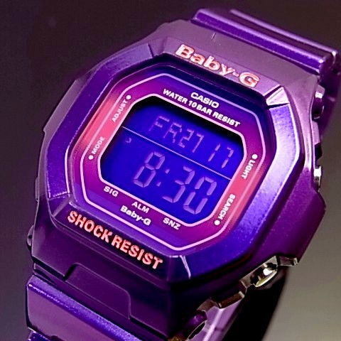 CASIO/Baby-G metallic colors series BG-5600SA-6 purple overseas models
