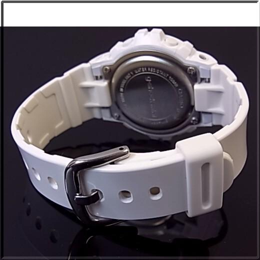 CASIO/G-SHOCK miniWHITE/PINK watch GMN-691-7B overseas models