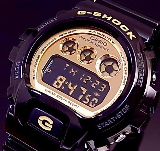 CASIO/G-SHOCK【カシオ/Gショック】Crazy Colors/クレイジーカラーズ 腕時計 ブラック/ゴールド DW-6900CB-1 海外モデル【並行輸入品】