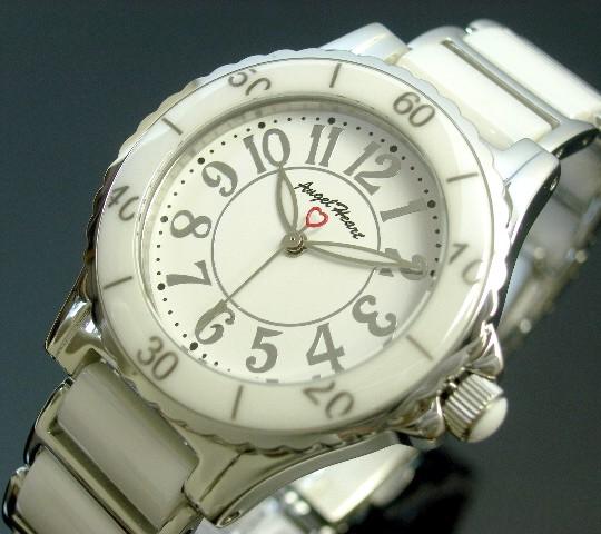 Angel Heart【エンジェル ハート】ラブスポーツ レディース腕時計 ホワイト文字盤 ホワイト/シルバーベルト【送料無料】WL33C(国内正規品)