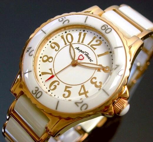 Angel Heart【エンジェル ハート】ラブスポーツ レディース腕時計 ホワイト文字盤 ホワイト/ピンクゴールドベルト【送料無料】WL33CPG(国内正規品)