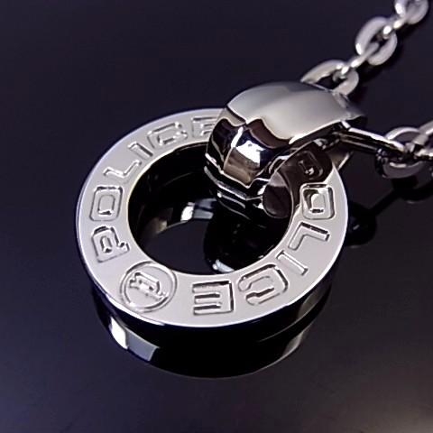 POLICE/accessory【ポリスアクセ】HALLOW リングトップ ステンレス ネックレス【送料無料】PJ23365PSS01(国内正規品)
