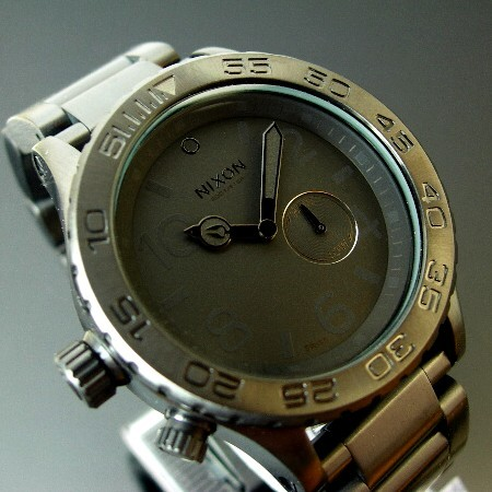NIXON【ニクソン】THE 42-20 メンズ腕時計 ALL BLACK ダイバーズ【送料無料】A035-001(国内正規品)