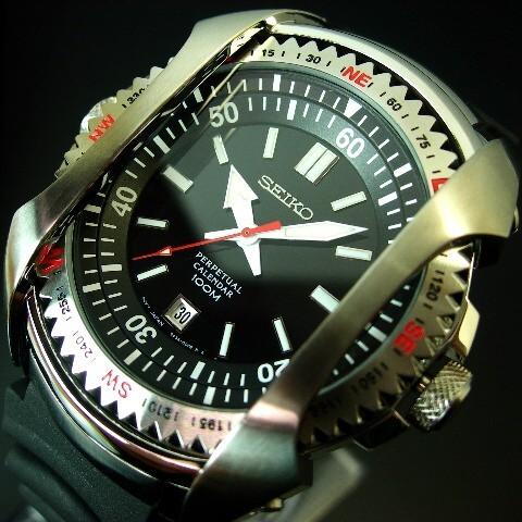 Seiko Perpetual Calendar.Seiko Perpetual Calendar Men Black Clockface Black Rubber Belt Snq091p1 Foreign Countries Model
