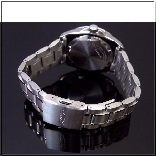 SEIKO/SPIRITGMT 맨즈 손목시계 파페츄아르카렌다시르바 문자판 메탈 벨트 SBQJ017 (국내 정규품)