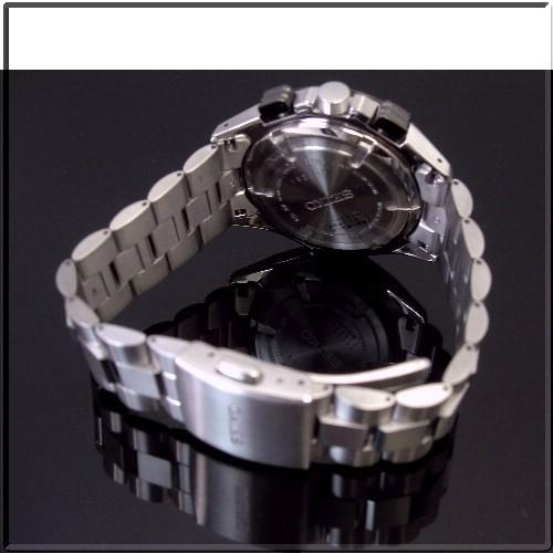 SEIKO/IGNITION1/100 초 스톱 워치 티타늄 남자 시계 실버 문자판 메탈 벨트 SBHP027 (국내 정품)