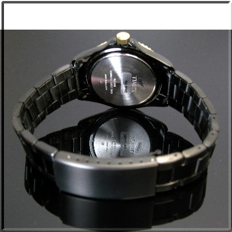 TIMEX 남성용 시계 일본 한정판 블랙 컬렉션 DJ 모델 진한 회색 문자판 블랙 메탈 벨트 T92160 (국내 정품)