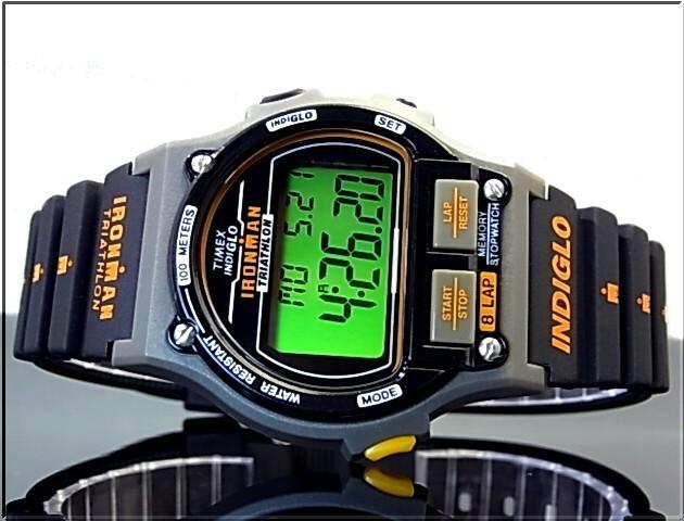 TIMEX 남성용 시계 Ironman Triathlon 8-lap 아이언 맨 트라이 애슬론 8 랩 복 각 판 T5H941 (국내 정품)