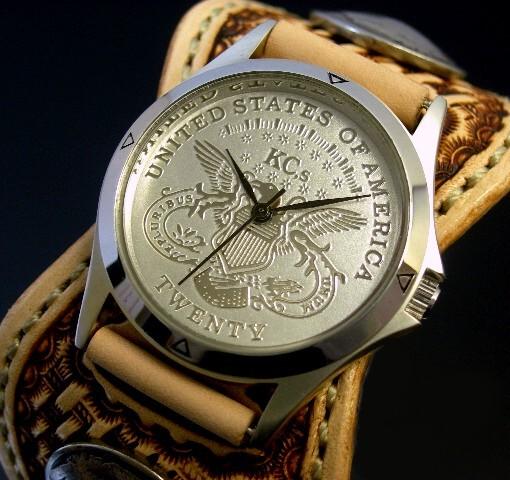KC,s/ケイシイズ【ESPANOLA BASKET/エスパニョーラ バスケット】メンズ腕時計 サドルレザーベルト【送料無料】KPR011-SVIGSA