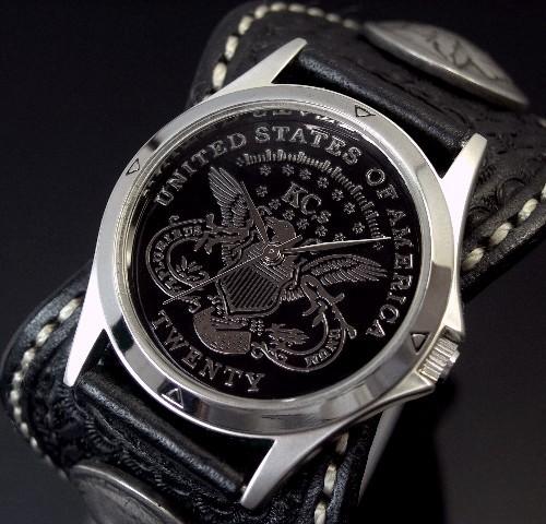 KC,s/ケイシイズ【ESPANOLA BASKET/エスパニョーラ バスケット】メンズ腕時計 ブラック レザーベルト【送料無料】KPR011-BKIGBK