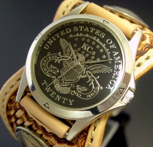 KC,s/ケイシイズ【ESPANOLA BASKET/エスパニョーラ バスケット】メンズ腕時計 サドルレザーベルト【送料無料】KPR011-BKIGSA
