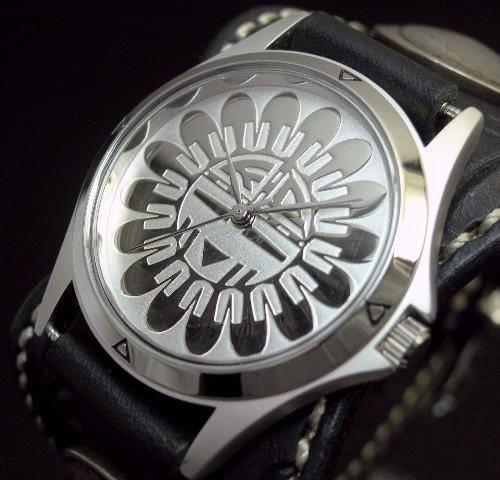 KC,s/ケイシイズ【ESPANOLA BASKET/エスパニョーラ フリーカット】メンズ腕時計 ブラック レザーベルト【送料無料】KPR012-SVSU0BK