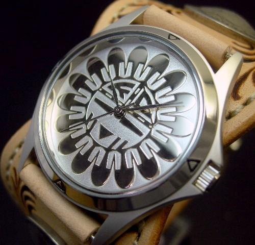 KC,s/ケイシイズ【ESPANOLA BASKET/エスパニョーラ フリーカット】メンズ腕時計 サドル レザーベルト【送料無料】KPR012-SVSU0SA