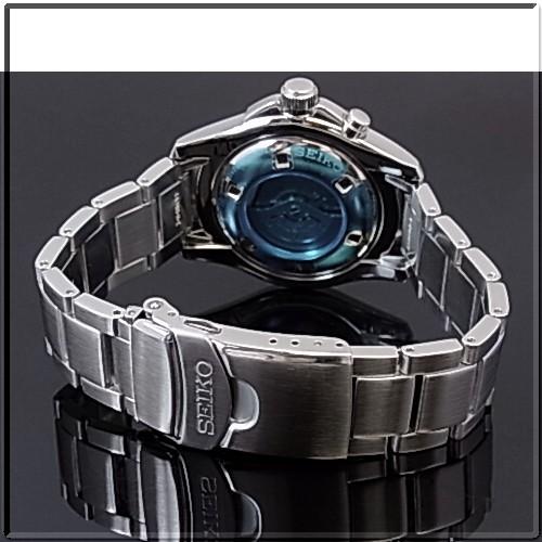 SEIKO/KINETIC 남자 시계 블랙 문자판 메탈 벨트 SKA463P1 (해외 모델)