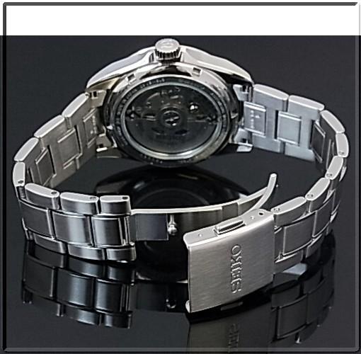 SEIKO/Mechanical Series 자동 권 남자 시계 브라운 문자판 메탈 벨트 SARB025 (국내 정품)