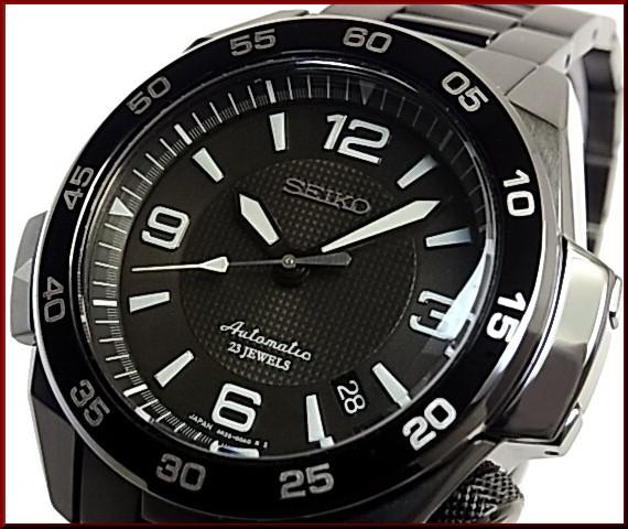 SEIKO/PROSPEX 메카니컬 자동권맨즈 손목시계 블랙 문자판 블랙 메탈 벨트 MADE IN JAPAN SBDY003(국내 정규품)