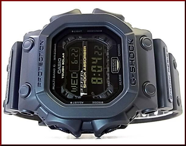 CASIO/G-SHOCK 솔러 전파 손목시계 블랙/골드 시리즈 GXW-56 GB-1 JF(국내 정규품)