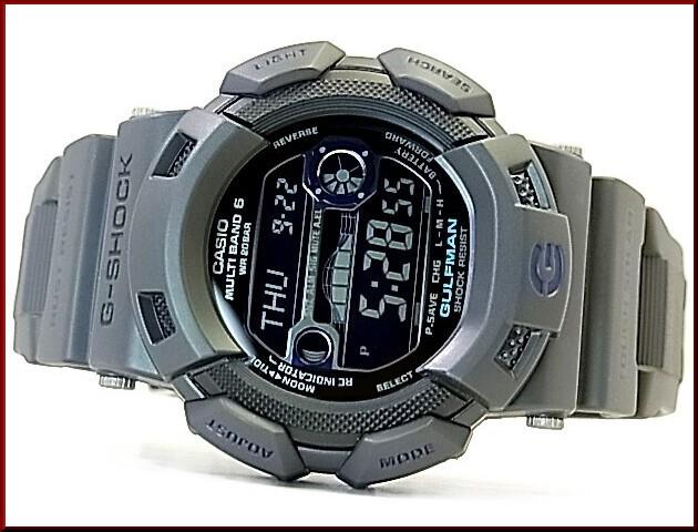 CASIO/G-SHOCK 가르후만멘・인・스모키・그레이 솔러 전파 손목시계 GW-9110 GY-1 JF(국내 정규품)