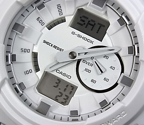 how to set baby g shock analog watch