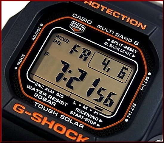 CASIO/G-SHOCK/Baby-G 쌍 감시 솔 러 전파 시계 블랙/화이트 (국내 정품) GW-M5610R-1JF/BGD-5000-7BJF