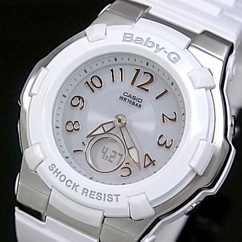 CASIO/Baby-G【カシオ/ベビーG】ソーラー電波腕時計 レディース ホワイト BGA-1100-7BJF(国内正規品)