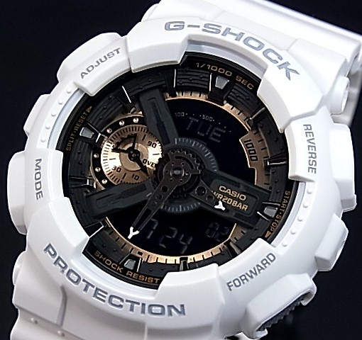 CASIO/G-SHOCK【カシオ/Gショック】Rose Gold Series/ローズゴールドシリーズ アナデジ メンズ腕時計 海外モデル【並行輸入品】 GA-110RG-7A