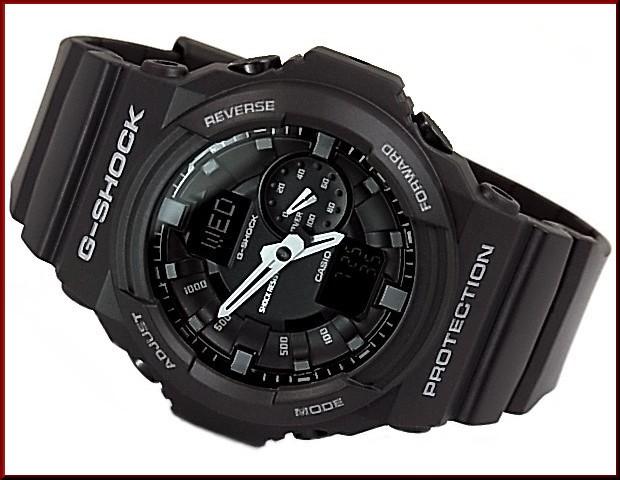 CASIO/G-SHOCK/Baby-G페아워치아나데지모델 손목시계 블랙/네이비(국내 정규품) GA-150-1 AJF/BGA-210-2 B2JF