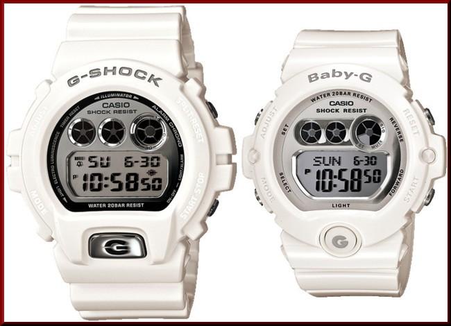 CASIO/G-SHOCK/Baby-G PA watch watches white / silver DW-6900MR-7JF/BG-6900-7JF (Japanese regular Edition)