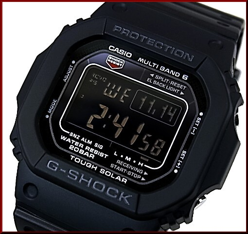 CASIO/G-SHOCK/Baby-G페어 워치 솔러 전파 손목시계 블랙/핑크(국내 정규품) GW-M5610-1 BJF/BGD-5000-4 JF
