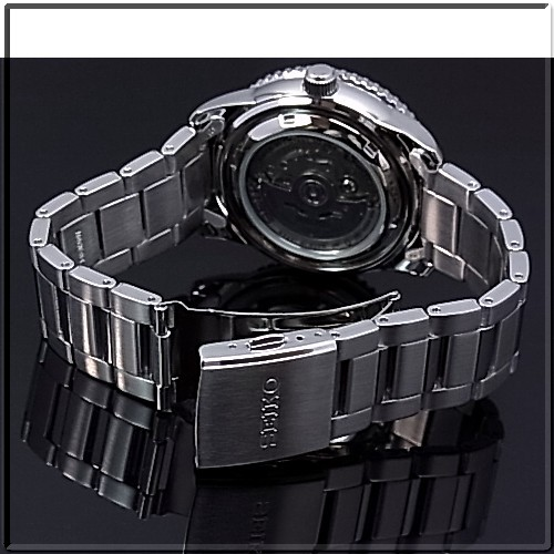 Seiko/SEIKO5 Sports automatic vol mens watch JAPAN MADE metal belt black letter Edition SRP127J1 overseas model SARZ007