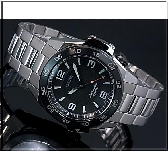 SEIKO/PROSPEX 메카니컬 자동권맨즈 손목시계 블랙 문자판 메탈 벨트 MADE IN JAPAN SBDY001(국내 정규품)