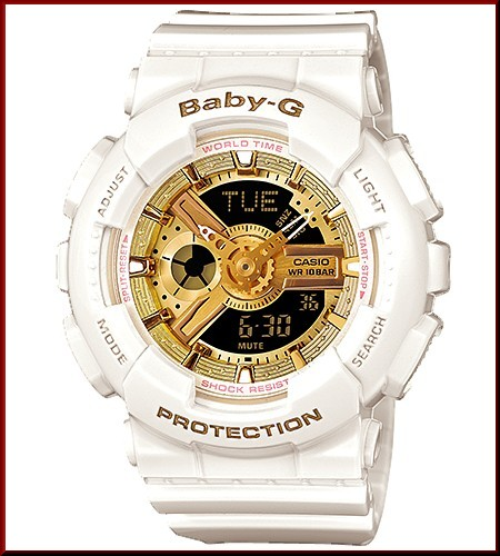 CASIO/G-SHOCK/Baby-G PA watch 30th anniversary commemoration special pair model pure white × gold (Japanese regular Edition) GBG-13SET-7AJR