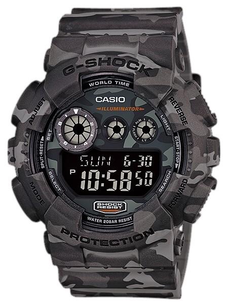 CASIO/G-SHOCK【カシオ/Gショック】Camouflage Series/カモフラージュシリーズ メンズ腕時計 海外モデル【並行輸入品】 GD-120CM-8
