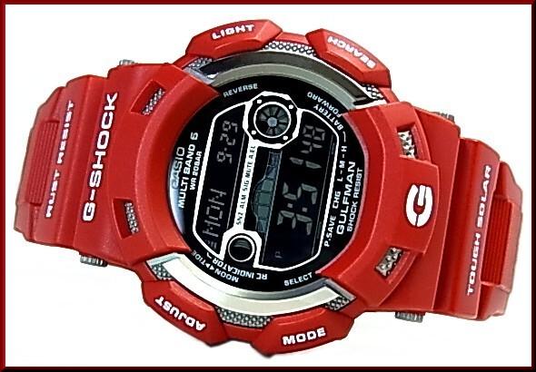 CASIO/G-SHOCK gulfman men all-in rescue red solar radio watch GW-9110RD-4JF (Japanese regular Edition)