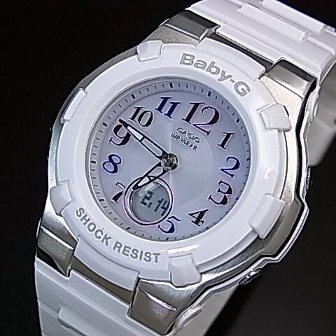 CASIO/Baby-G/Tripper【カシオ/ベビーG/トリッパー】ソーラー電波腕時計 レディース ホワイト BGA-1100GR-7BJF(国内正規品)
