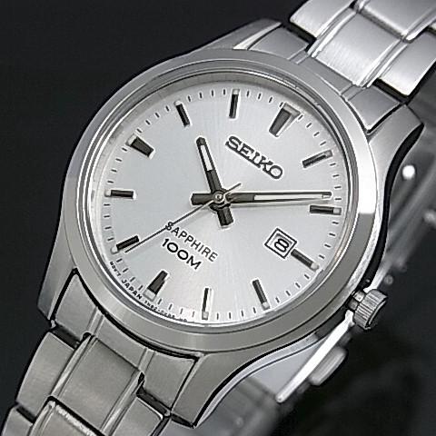 SEIKO/Quartz【セイコー/クォーツ】レディース腕時計 メタルベルト シルバー文字盤 SXDG61P1 海外モデル【並行輸入品】