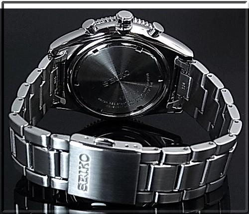 SEIKO/Chronograph 맨즈 손목시계 브락크베제르메타르베르트브락크 문자판 SNDG57P1 해외 모델