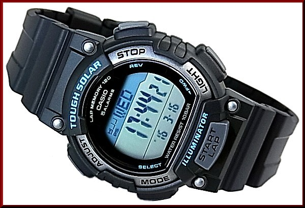 CASIO/SPORTS GEAR PA watch solar watch belt black (Japanese regular Edition) STL-S100H-2AJF/STL-S300H-1AJF