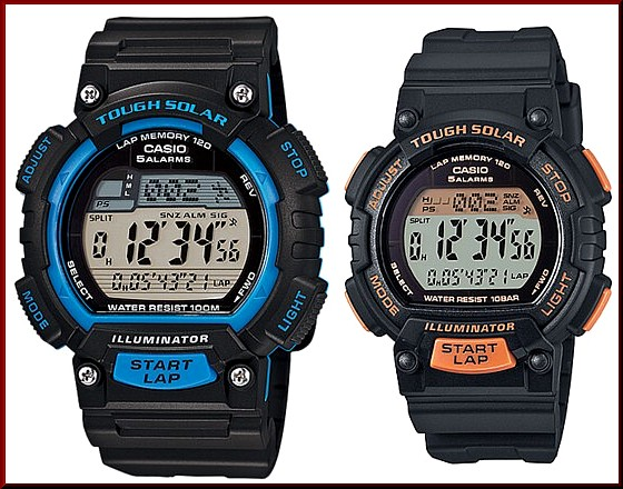 CASIO/SPORTS GEAR PA watch solar watch belt black (Japanese regular Edition) STL-S100H-2AJF/STL-S300H-1BJF
