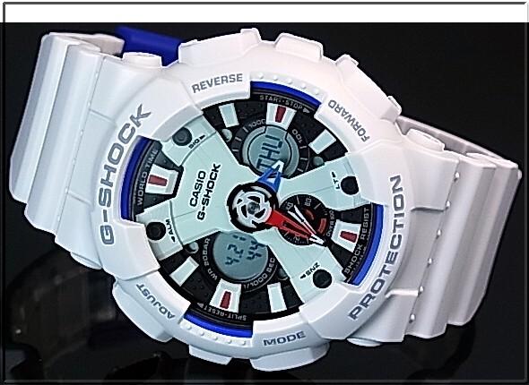 CASIO/G-SHOCK 트리 코 롤 컬러 모델 남자 시계 화이트 (국내 정품) GA-120TR-7AJF