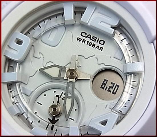 CASIO/G-SHOCK/Baby-G페아워치아나데지 손목시계 오렌지/그레이 x라이트 블루(국내 정규품) GA-500 P-4 AJF/BGA-190 BC-2 BJF