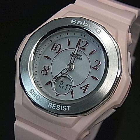 CASIO/Baby-G【カシオ/ベビーG】ソーラー電波腕時計 レディース ピンク(国内正規品)BGA-1050-4BJF
