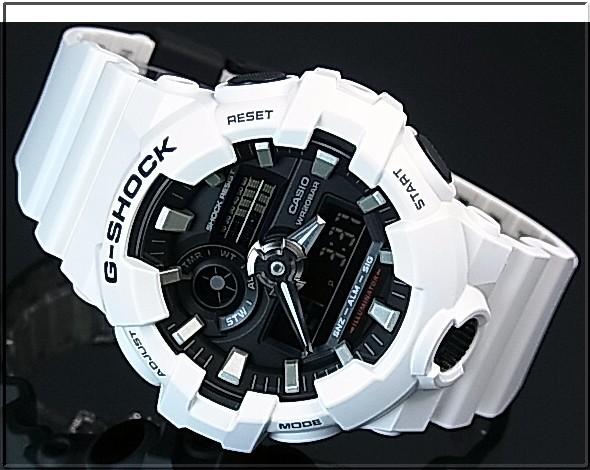 CASIO/G-SHOCK 아나데지모데르멘즈 손목시계 화이트(국내 정규품) GA-700-7 AJF