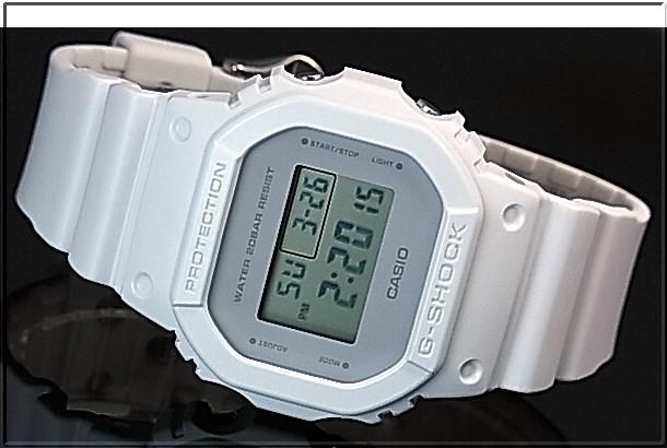 CASIO/G-SHOCK 맨즈 손목시계 밀리터리 칼라 시리즈 화이트(국내 정규품) DW-5600 CU-7 JF
