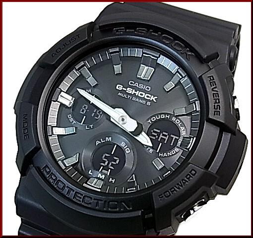 Bright Casio G Shock Solar Radio Wave Watch Men S Black
