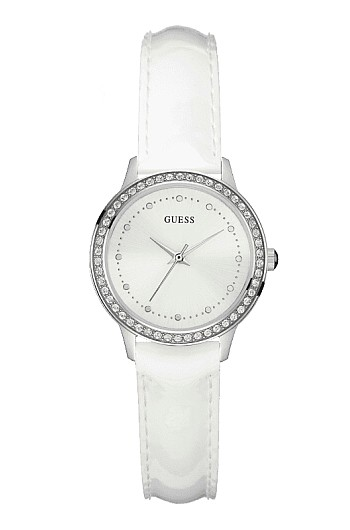 76bc8fa9b BRIGHT: GUESS/CHELSEA ladies watch white characters Edition White ...