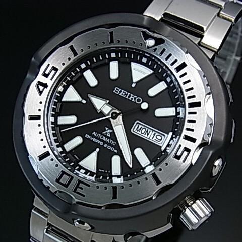 SEIKO/PROSPEX/200m diver's watch【セイコー/プロスペックス/200m防水ダイバーズ】自動巻 メンズ腕時計 メタルベルト ブラック文字盤 海外モデル【並行輸入品】 SRPA79K1